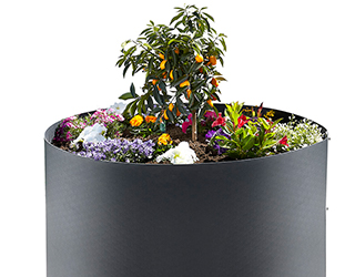 Bepflanztes Hochbeet Family Garden Kollektion FVG Folien Vertriebs GmbH