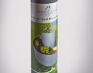 Die Kräuter- und Blumenspirale ist in Bau- und Gartenmärkten sowie auf Amazon erhältlich.