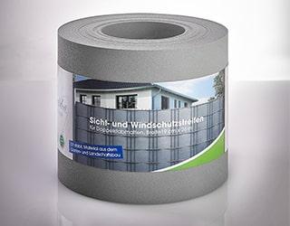 Sicht- und Sichtschutzstreifen im Farbton grau FVG Folien Vertriebs GmbH