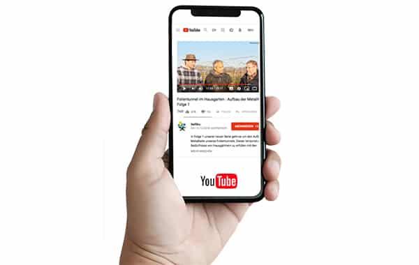Youtube-Informations Römi Film Tunnel